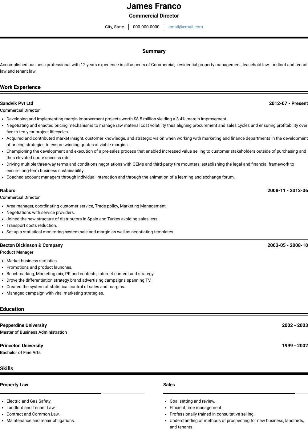 40+ Safety manager resume objective Examples