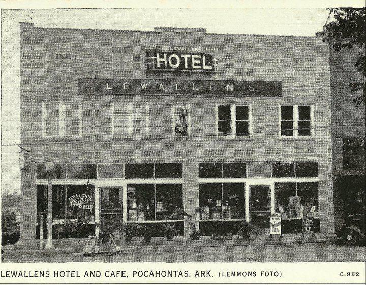 Lewallens Hotel Pocahontas Ar