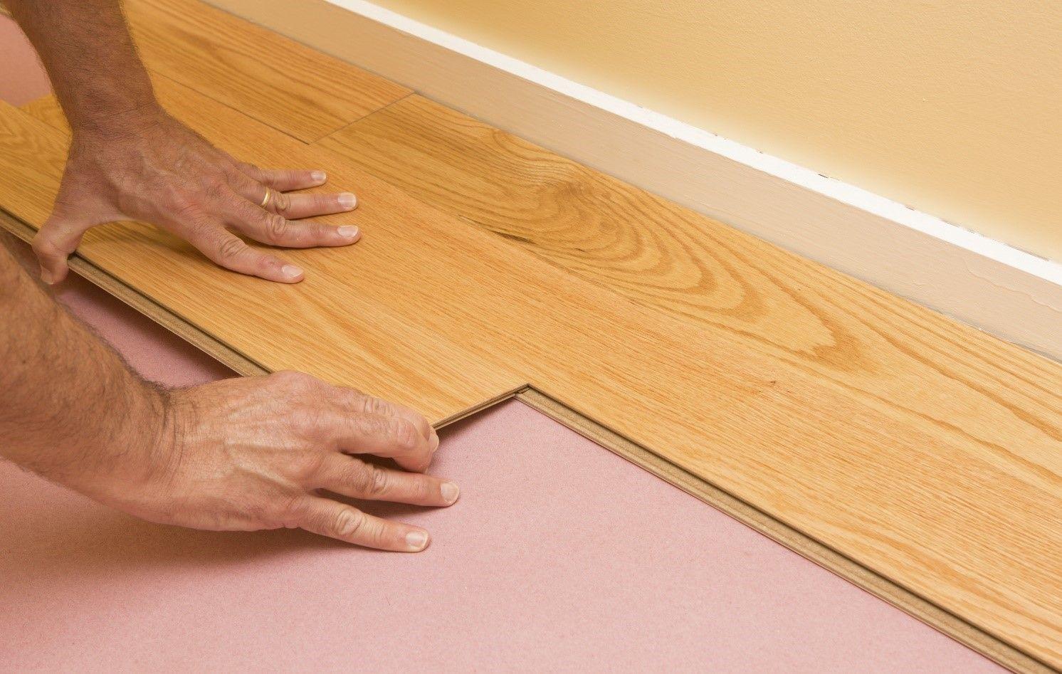 Subfloor vs Underlayment | Engineered wood floors, Solid ...