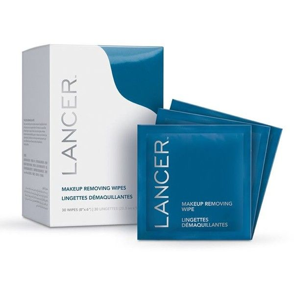 Lancer Skincare Makeup Removing Wipes 130 Brl Liked On Polyvore Featuring Beauty Products Skincare Face Care Makeup Remover Wipes Wipes Box Makeup Wipes