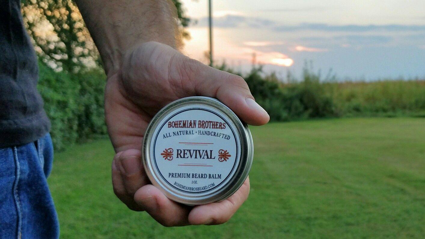 Revival Beard Balm. Deep conditioning beard balm helps to