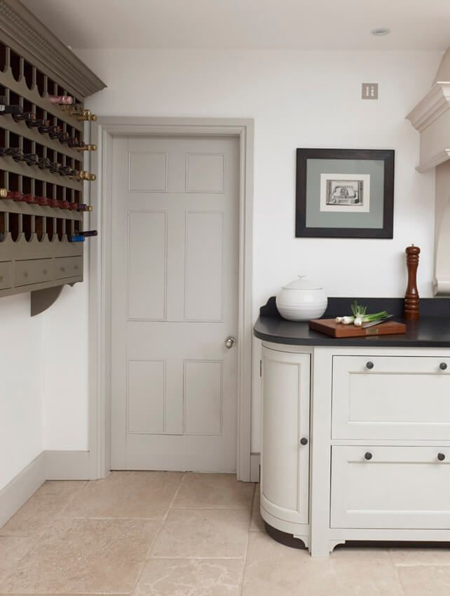 Grey Skirting Board