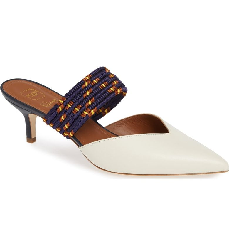 cec082e7196 Free shipping and returns on Malone Souliers by Roy Luwolt Maisie Banded  Mule (Women) at Nordstrom.com. A contrast kitten heel and a band woven with  ...