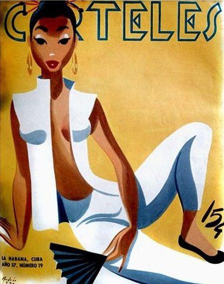 Carteles magazine (Cuba) 1950s [via 16 Stone Vintage]