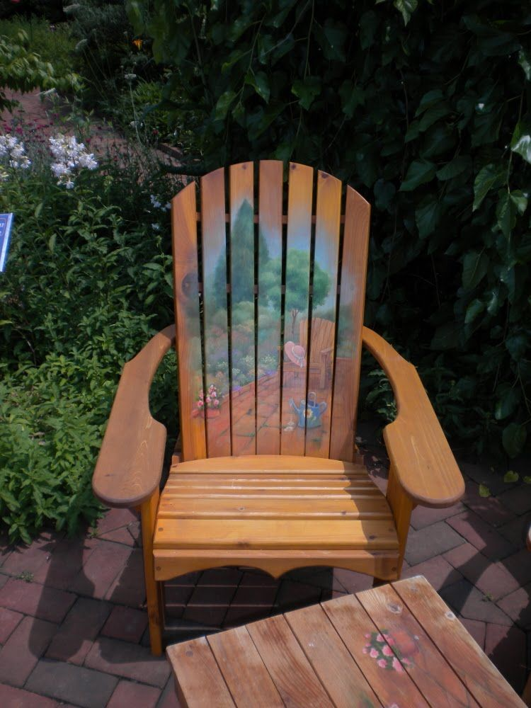 Painted Adirondack Chairs   Google Search
