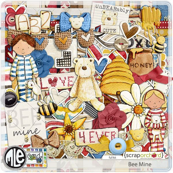 Bee Mine by mle Card
