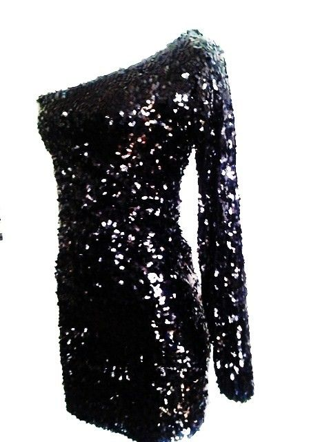 1000  images about Black Sequin DressesBirthday Party One ...