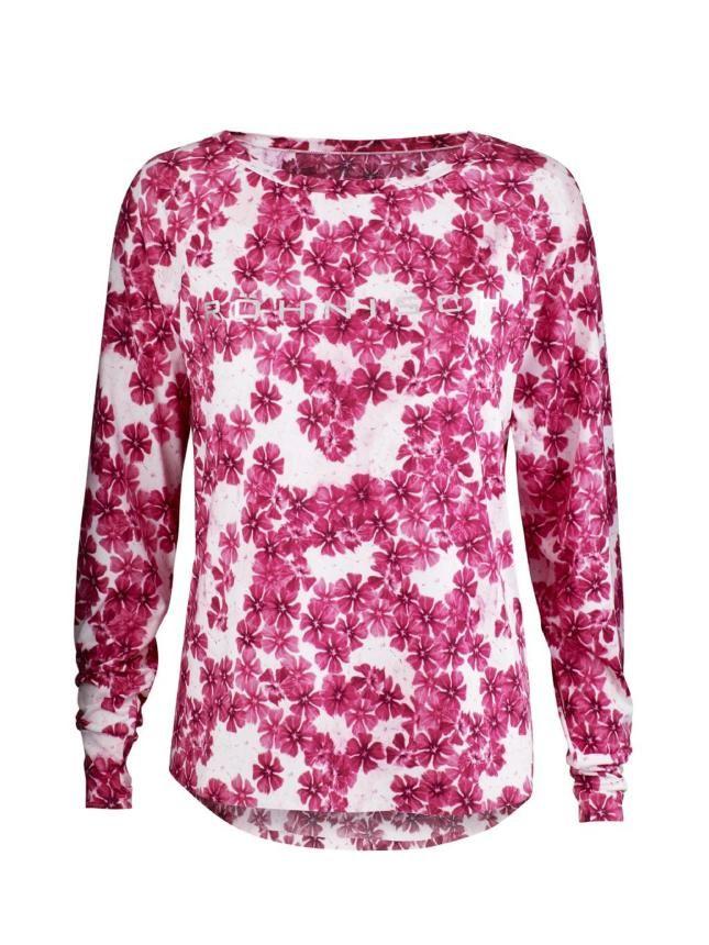 a4b2390020c0 Dámske funkčné tričko Katia Long Sleeve s kvetovaným vzorom na beh a šport.