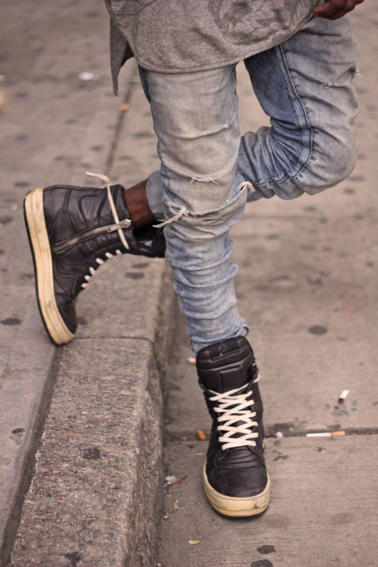 ADIDAS & RICK OWEN ON SOME MASTODON | Grey Slacks