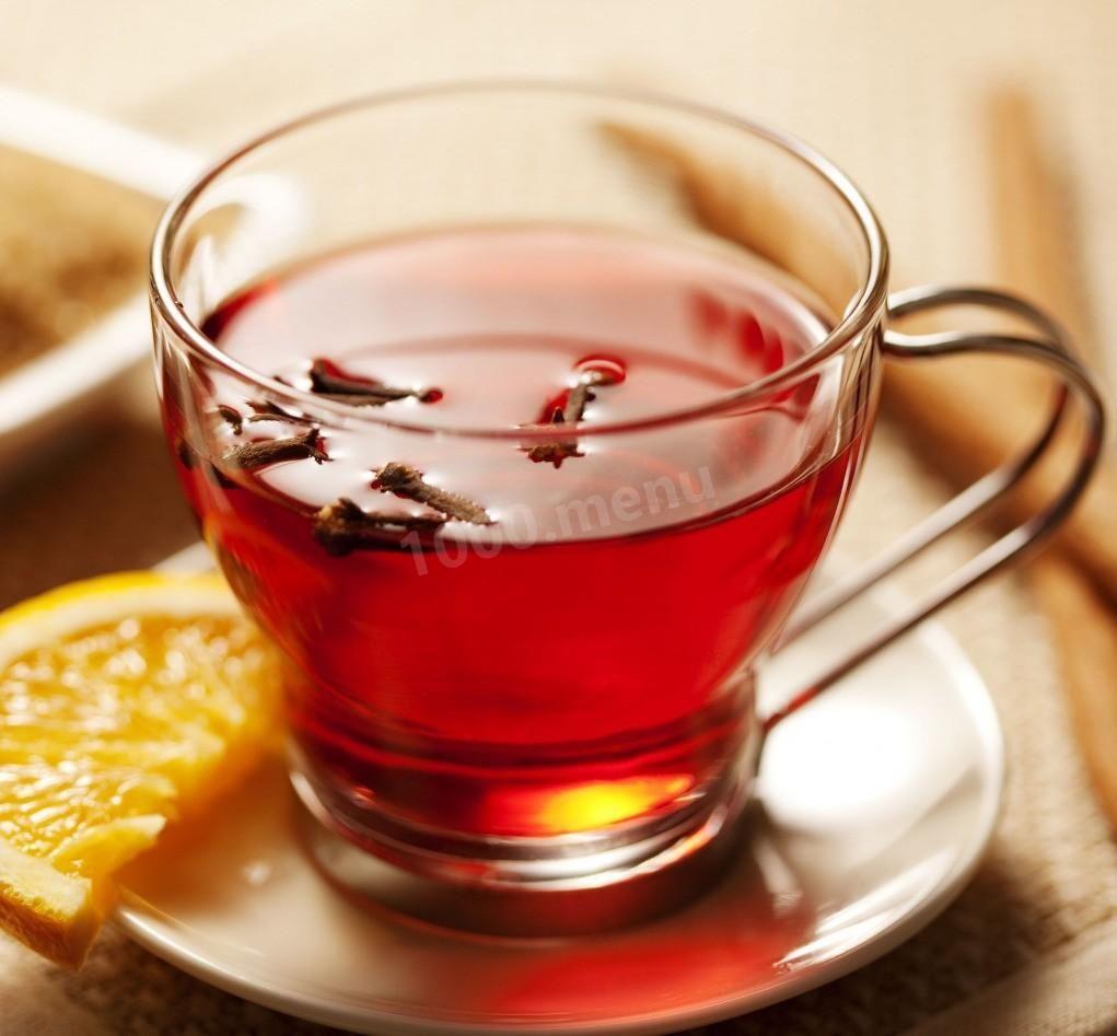 книга с рецептами чая