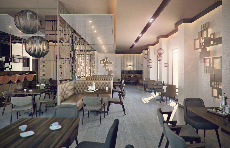 Crepe Bechamel Restaurant Interior Design CAS