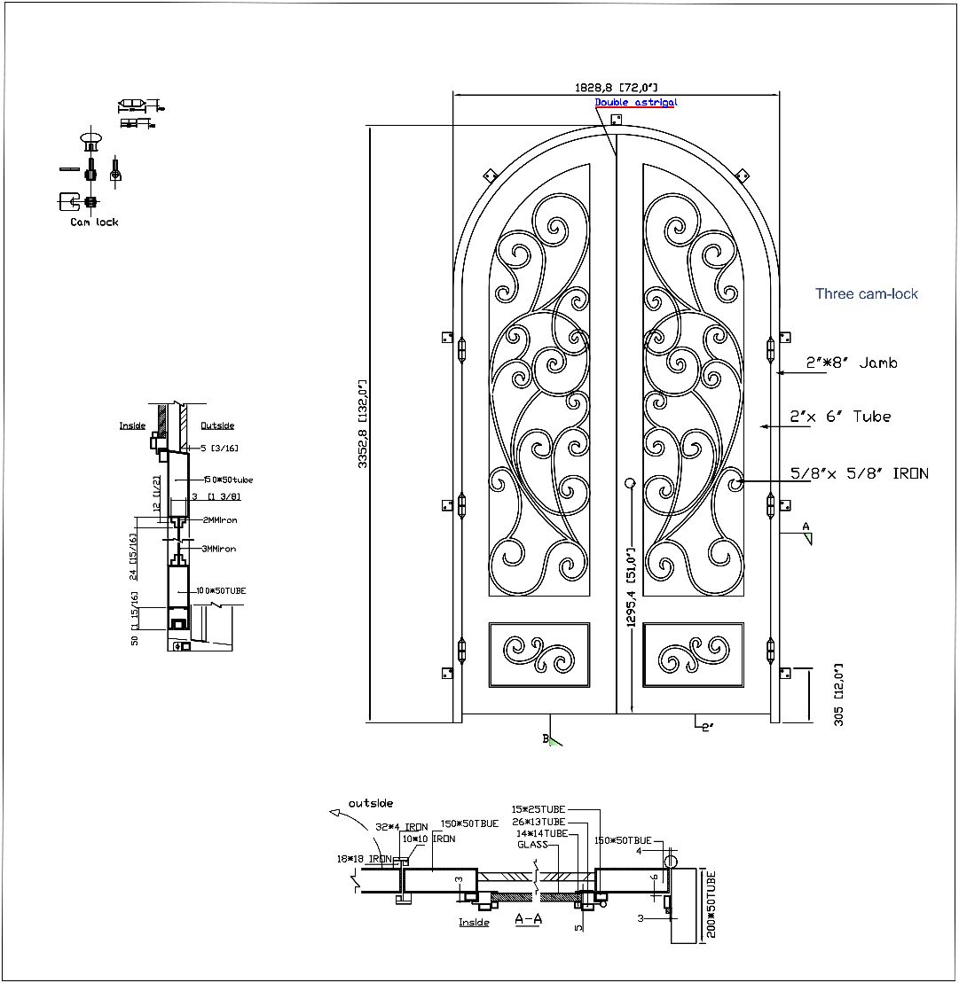 Pin by New York Stair and Rail Design on Double Doors ...