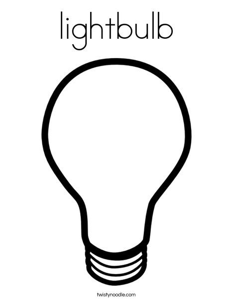 Light Bulb Picture Photos Coloring Pages Light Bulb Online