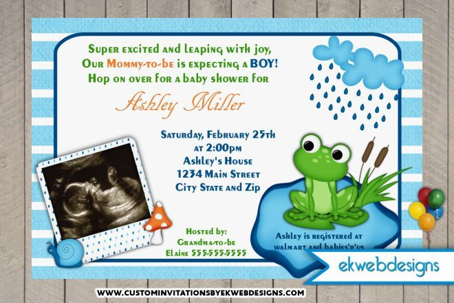 Baby shower invitations frog baby shower invitations baby shower baby shower invitations frog baby shower invitations filmwisefo