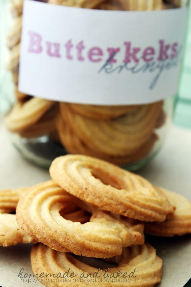 homemade and baked Food-Blog: Butterkekse
