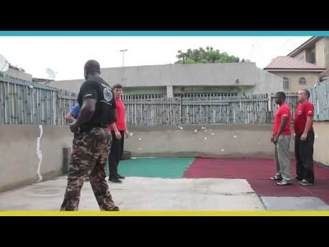 Students Learning Fighting Stances Open and Close distance in Krav Maga - YouTube