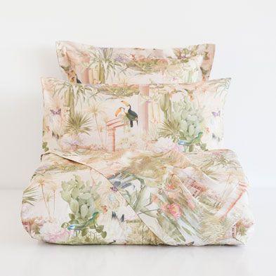 Linge de lit lit zara home france wishlist 2015 pinterest linen bed - Parure de lit zara home ...