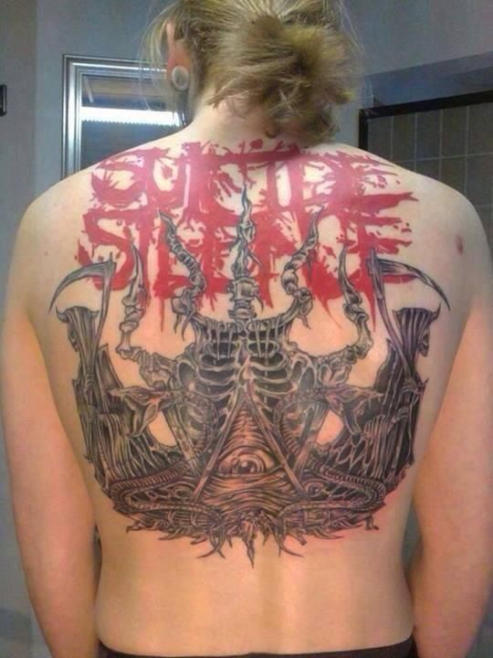 suicide silence tattoo just before i found this i was thinking that i would love to get the. Black Bedroom Furniture Sets. Home Design Ideas