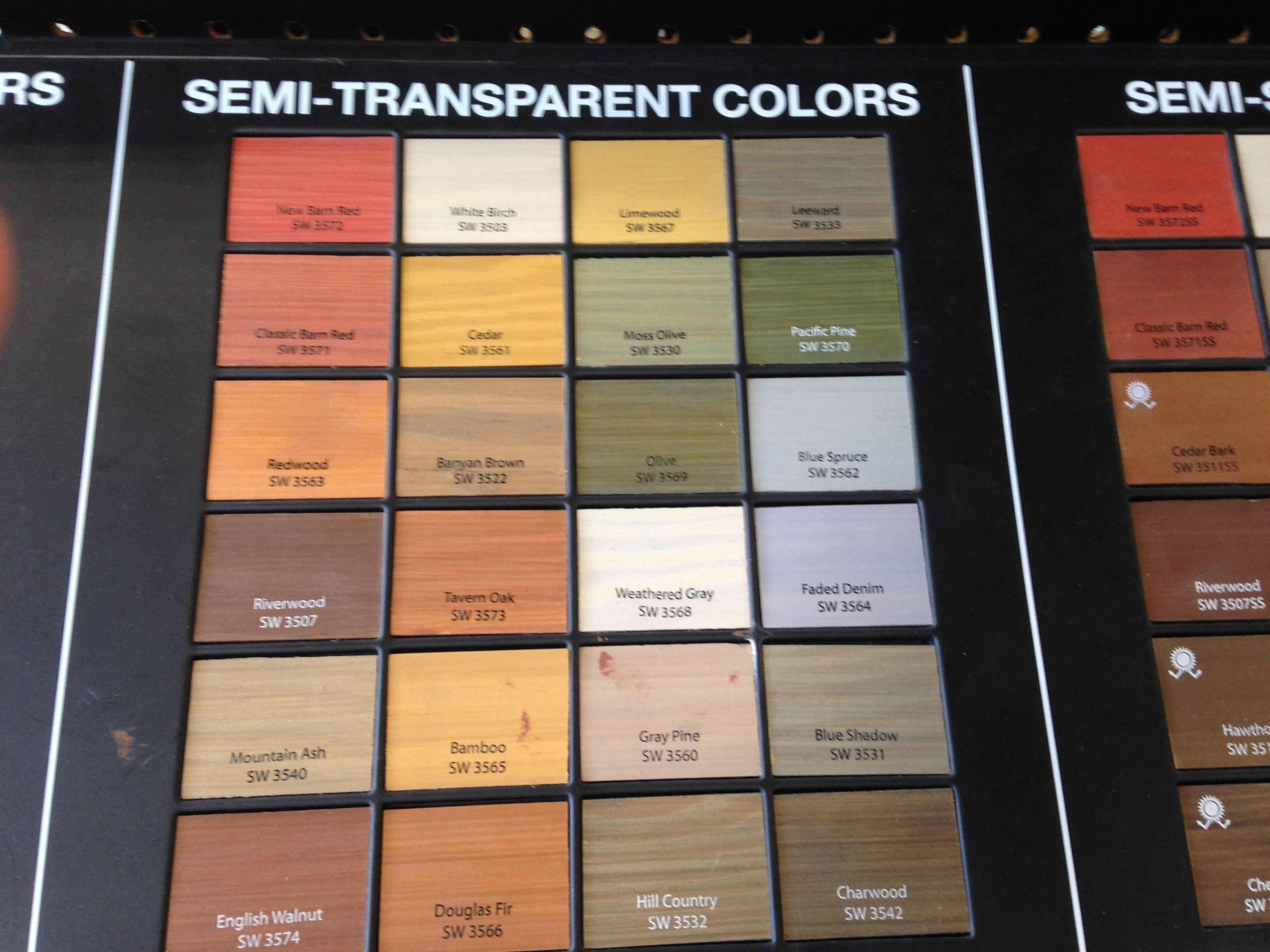 Sherwin Williams Semi Transparent Stains For Deck Fence Semi Transparent Stain Cedar Fence Stain Deck Stain Colors