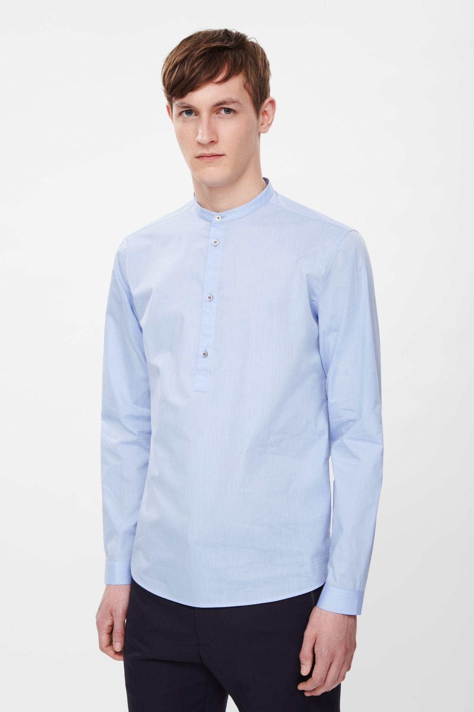 52c6b94be6b2 Poplin tunic shirt