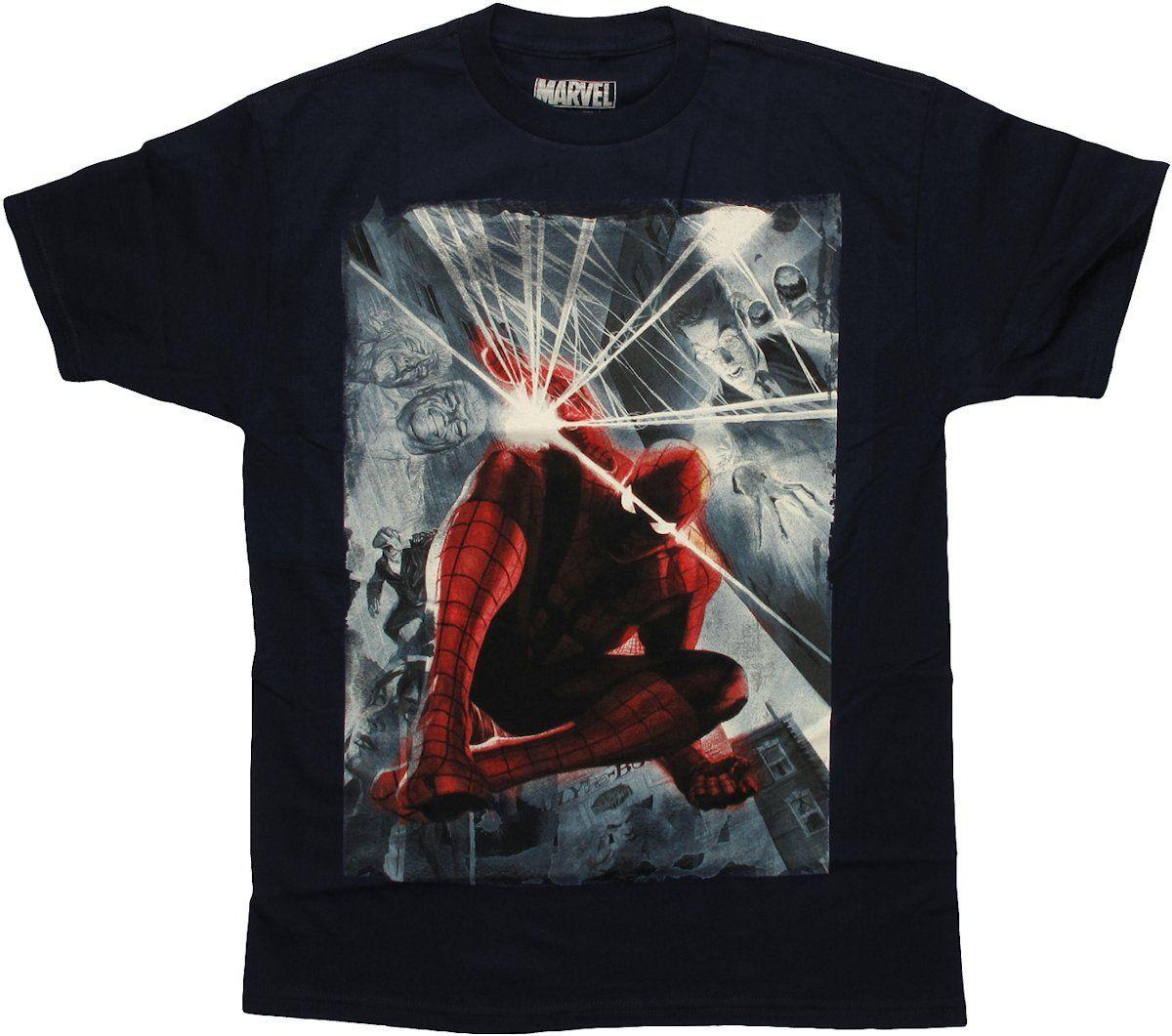 Spiderman Marvel 75th Special Edition Alex Ross T Shirt #blackfriday #blackfridaysale