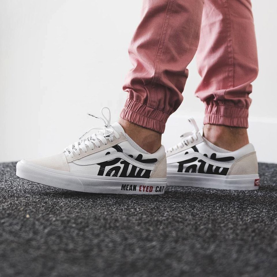 f252607a3e Patta x Vans Old Skool Mean Eyed Cat - True White - 2017 (by vladieboi)