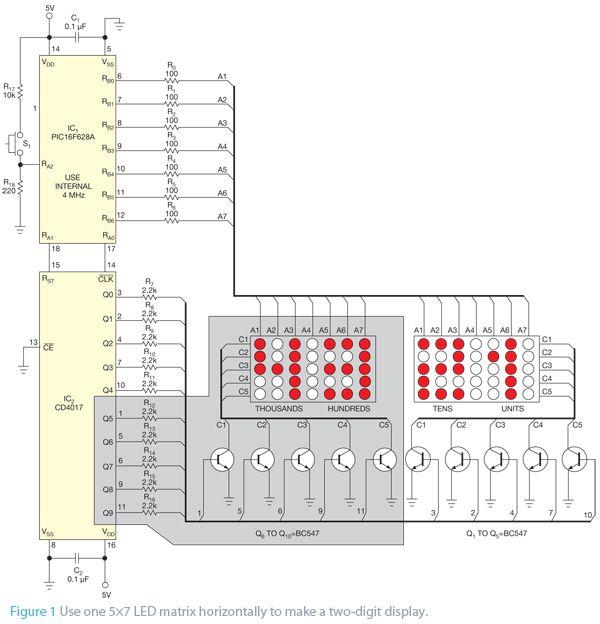 Use an led matrix horizontally schematic jjweisspowerelctrc use an led matrix horizontally schematic swarovskicordoba Images