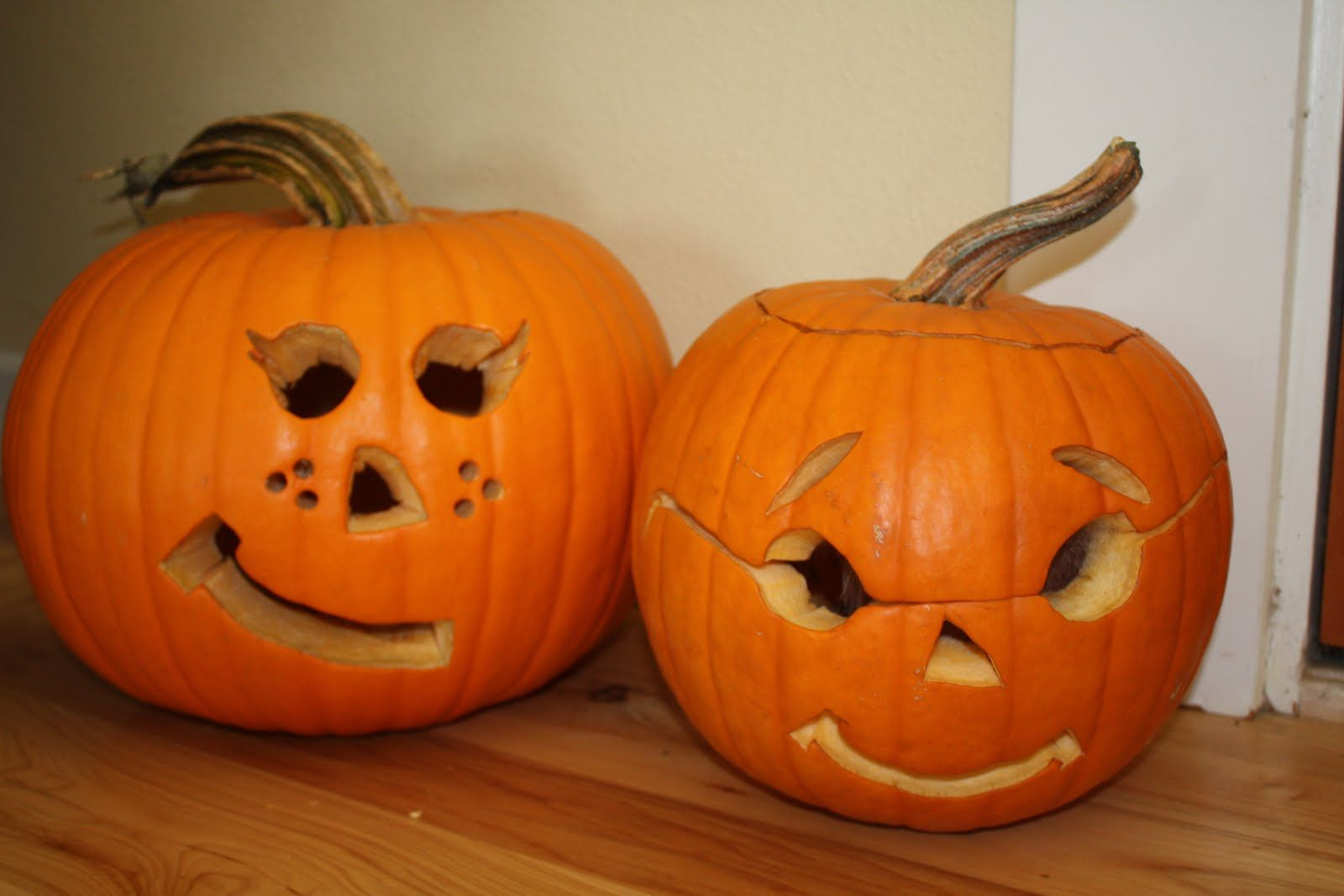 Easy pumpkin carvings have a friend who came up with a Easy pumpkin painting patterns