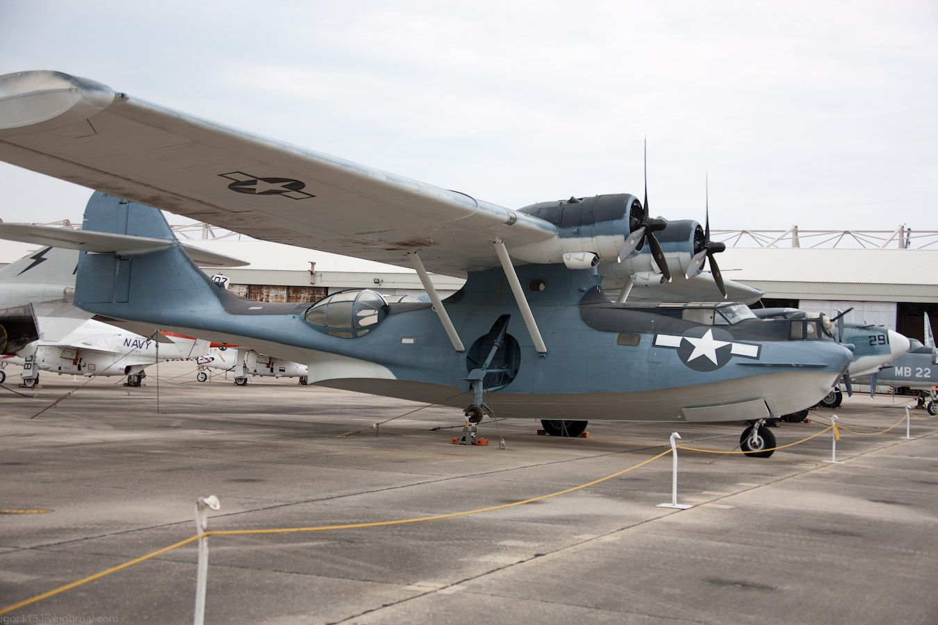 National Naval Aviation Museum, Pensacola Fl ч.10Pby