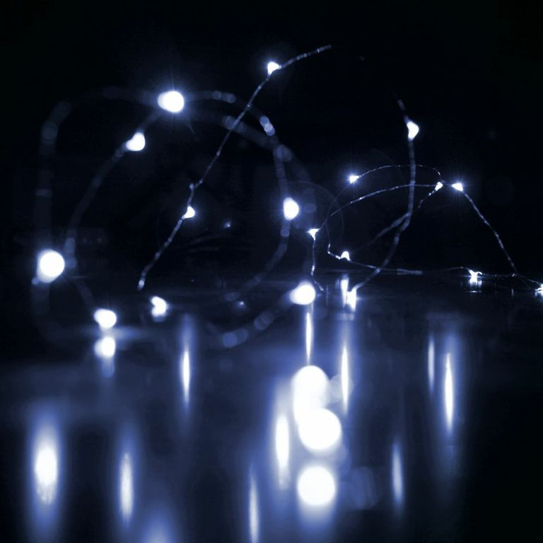 Micro Led String Lights Rtgsproducts Micro #led String Lights  Battery Operated  Cold