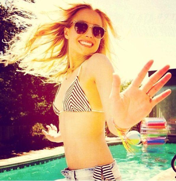Kristen bell bikini esquire are absolutely