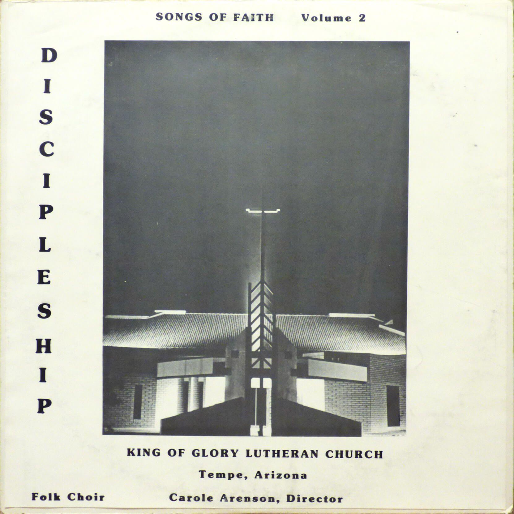 Cover Art For The Album Songs Of Faith Volume 2