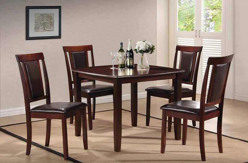 Mariano Furniture  1104 5 Piece Dining Set  Bm11045Set  Dining Entrancing Quality Dining Room Tables 2018