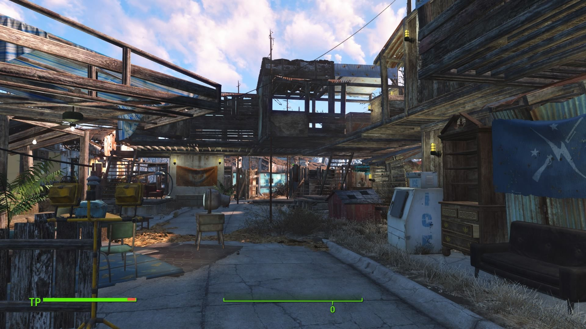 Fallout 4 Schone Hauser Bauen Structures Road Alley