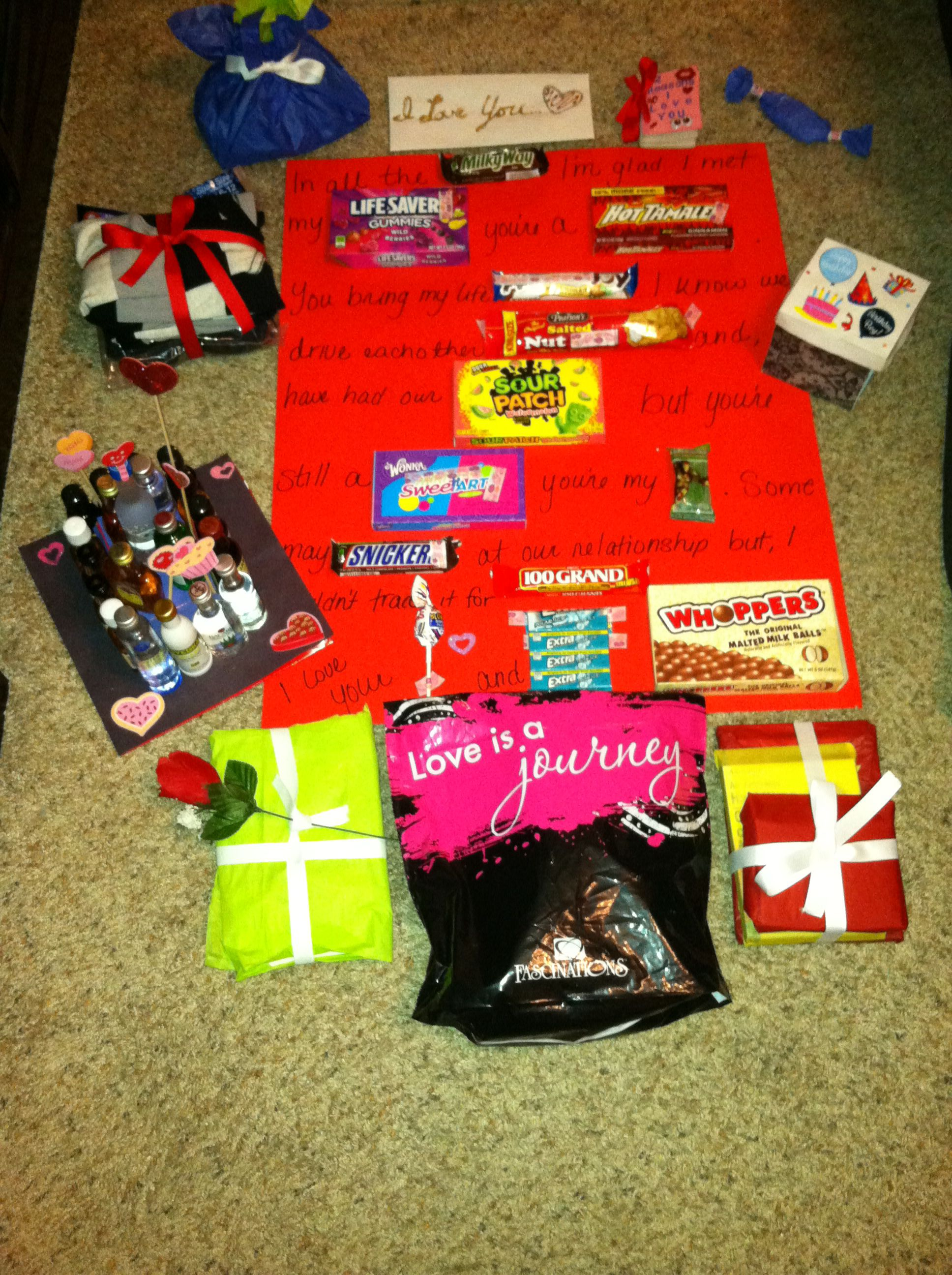 22 Gifts For My Boyfriends 22nd Birthday | *S2* Things To Do For ...