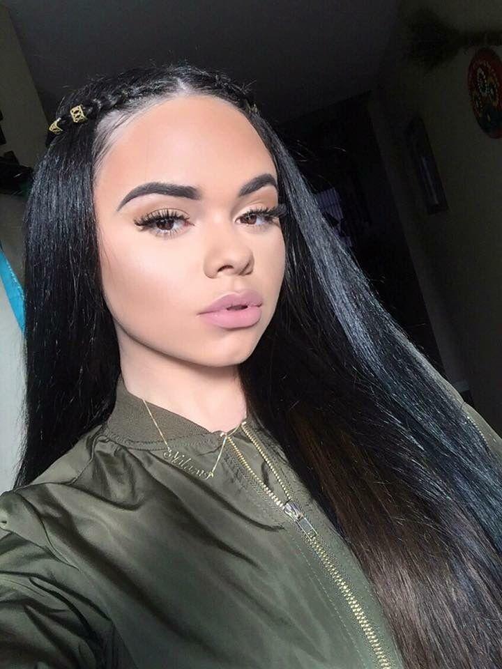 Slayed Makeup Beat Hair Styles Natural Hair Styles Hair Beauty