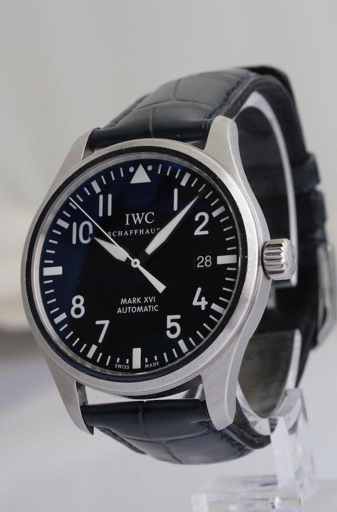12d594b242a6 IWC Schaffhausen MARK XVI Ref  IW325501 Pilot s Wristwatch