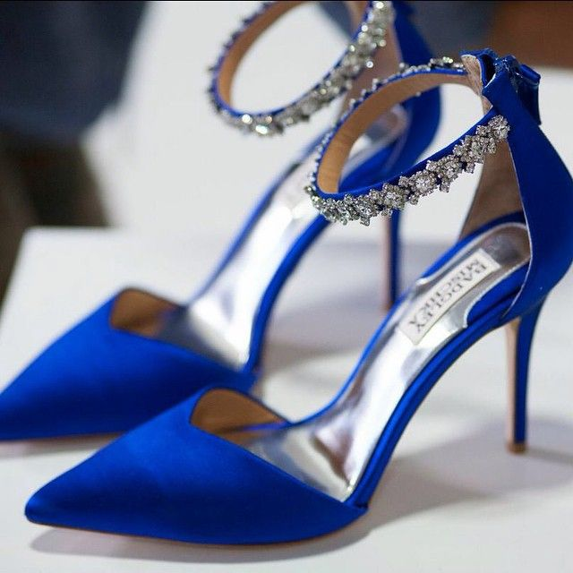 Shine Light On These Cobalt Sparklers Wedding Shoes Heels Royal Blue Wedding Shoes Blue Heels Wedding
