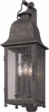 "Troy Larchmont 18.75"" Outdoor Lighting Sconce - Pewter B3211"
