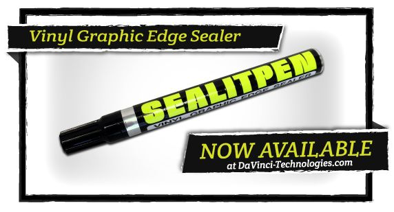 Sealitpen Vinyl Graphic Edge Sealer Pen Sealer Vinyl