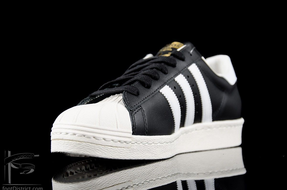 adidas superstar 80s negras