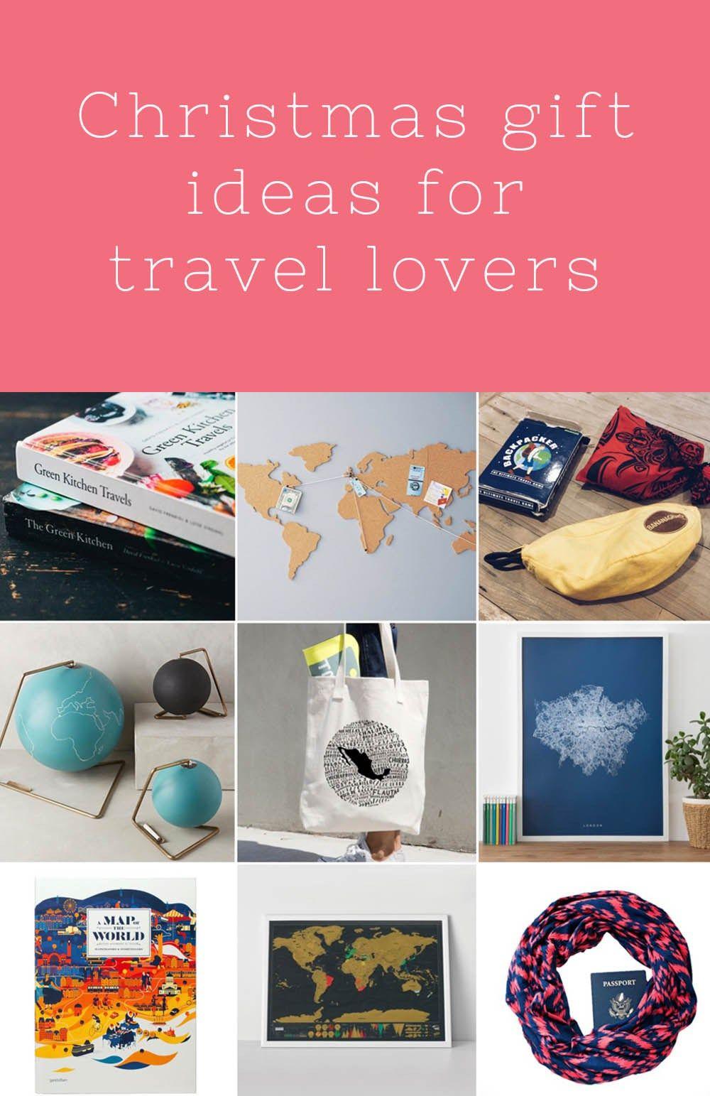 christmas gift ideas for travel lovers travel tips pinterest christmas gifts gift and travel gifts