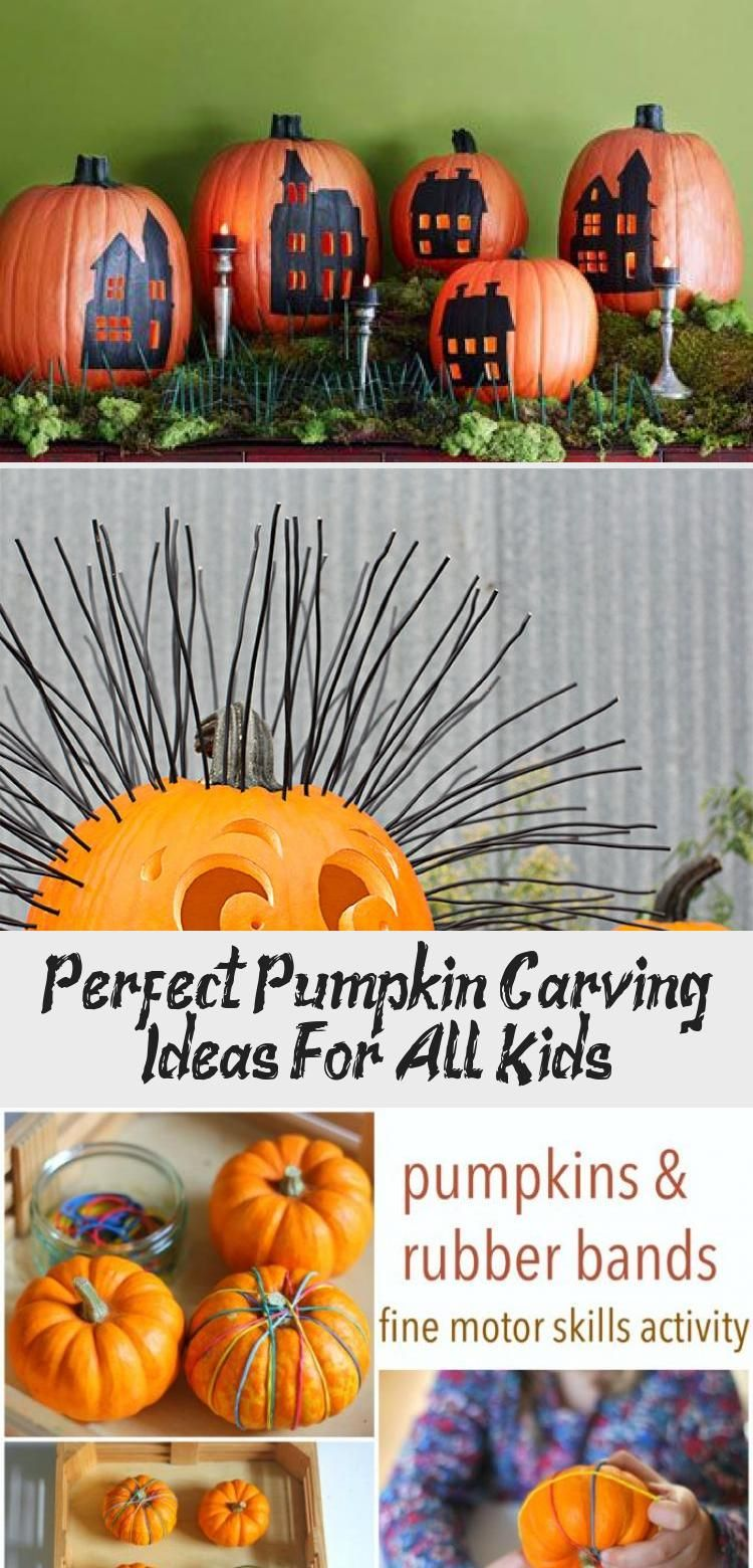 Perfect Pumpkin Carving Ideas For All Kids