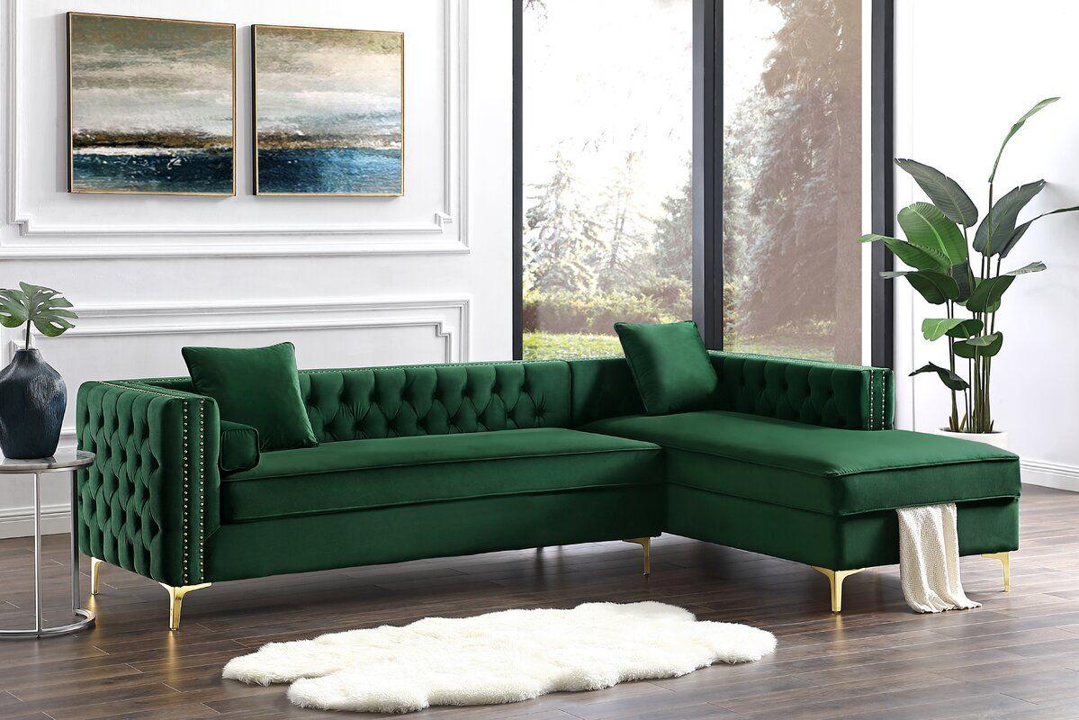 kaufman 115 sectional sectional sofa