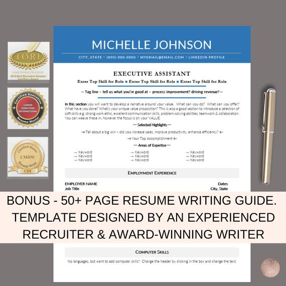 resume template  cv template  ats friendly resume