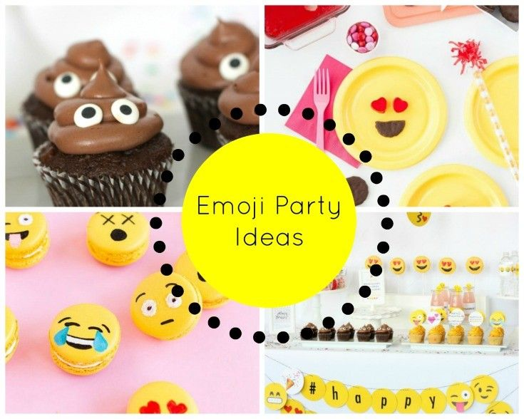 Share Your Emotions With These Emoji Party Ideas #Emoji
