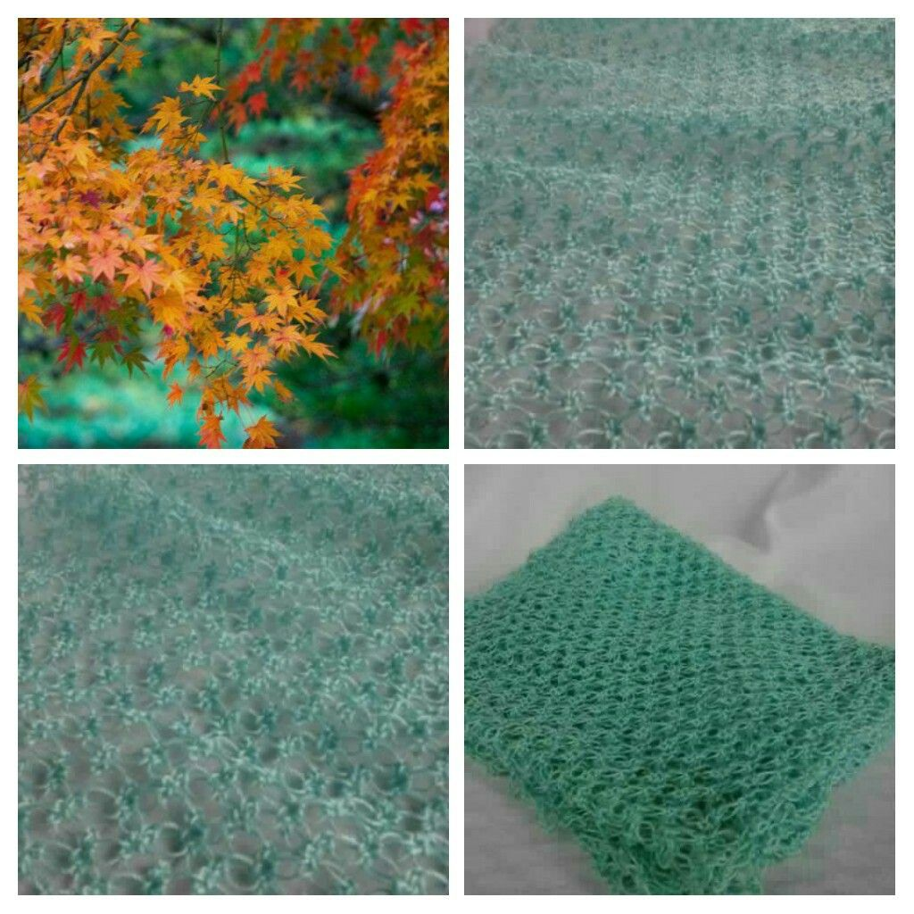 Lacey ♡ Lover's Knot ♡ Wrap ♡ Turquoise  LUDVIGSON LACE ♡ www.aftcra.com/ludvigsonlace  http://ludvigsonlace.simdif.com
