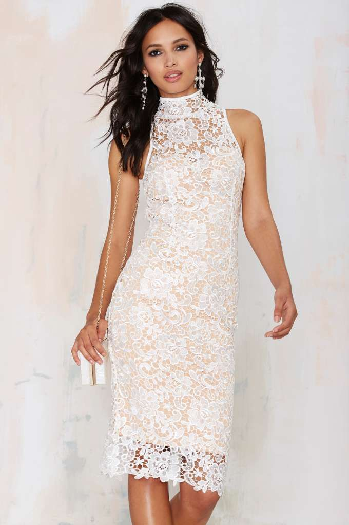 a37031505382 Misha Collection Eline Lace Dress - Body-Con | Going Out | Lace Dresses