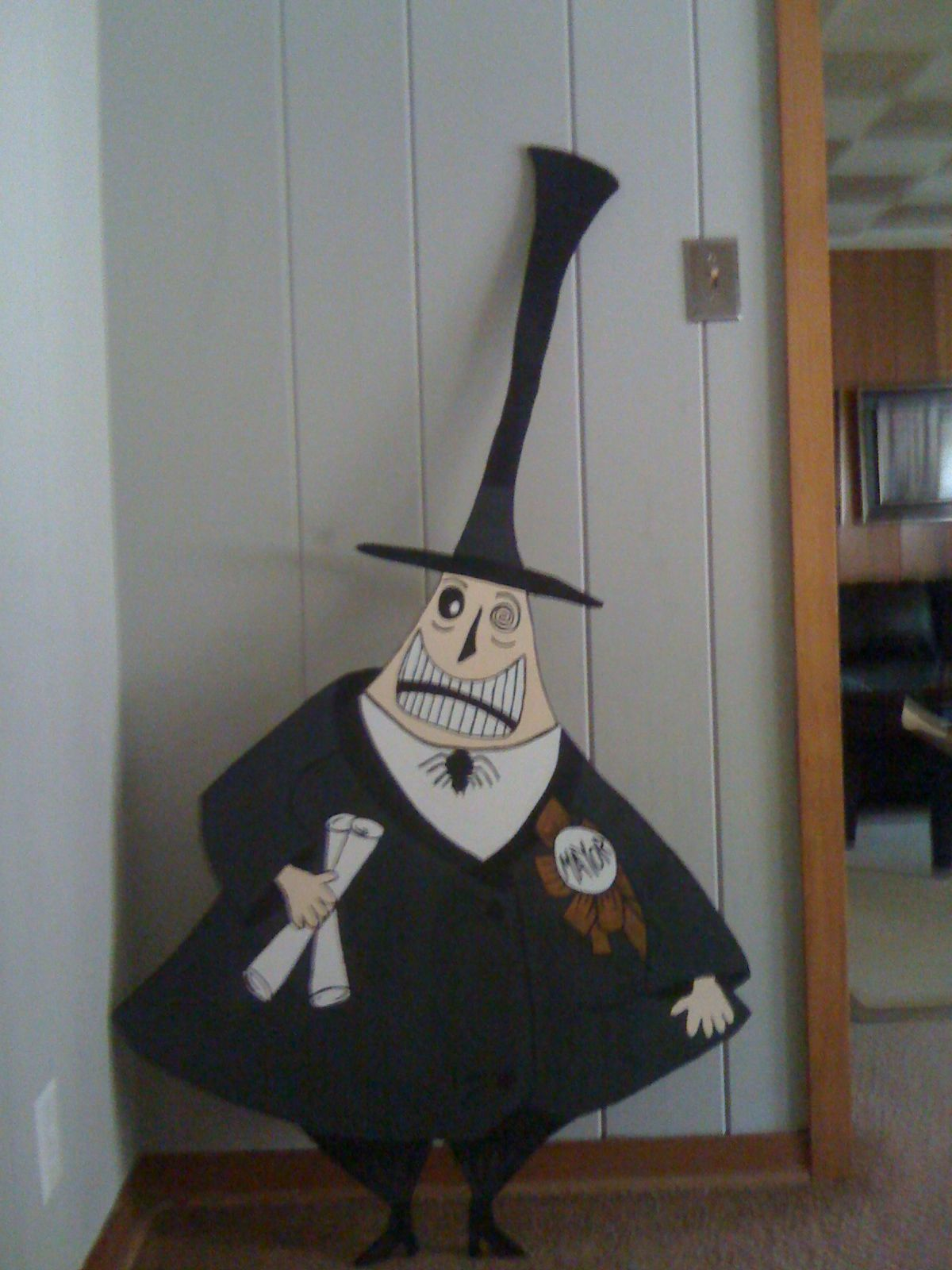 I made this for my halloween yard decorations!!! :)
