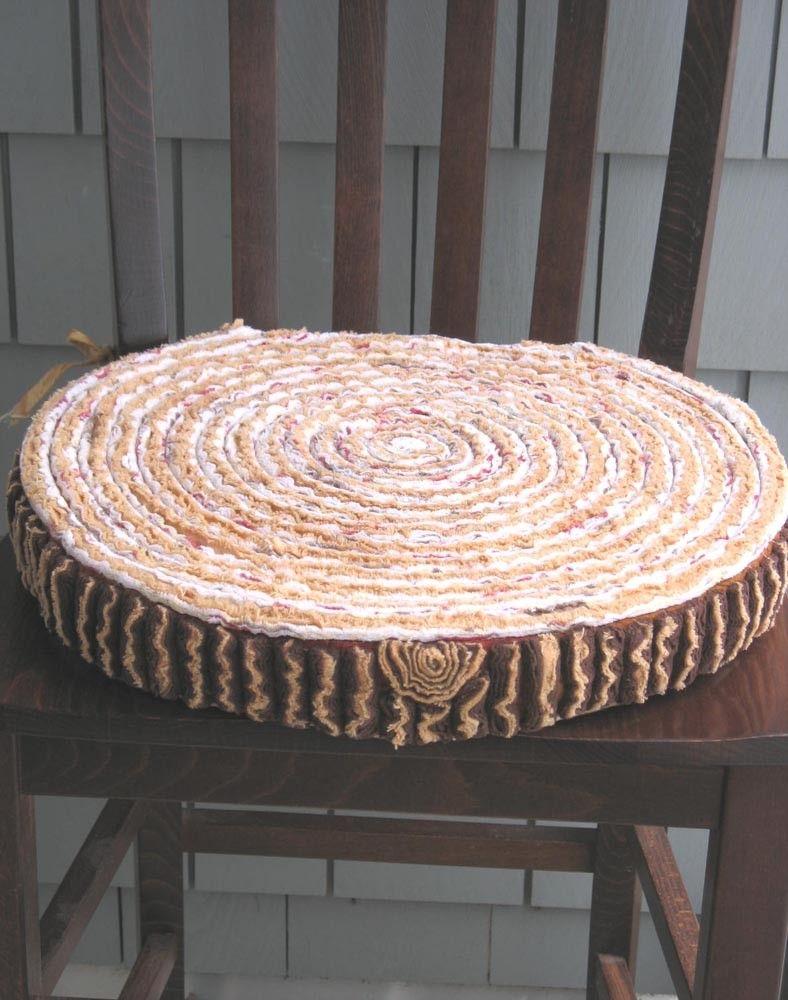 Faux bois goes soft faux bois cushions chair pads